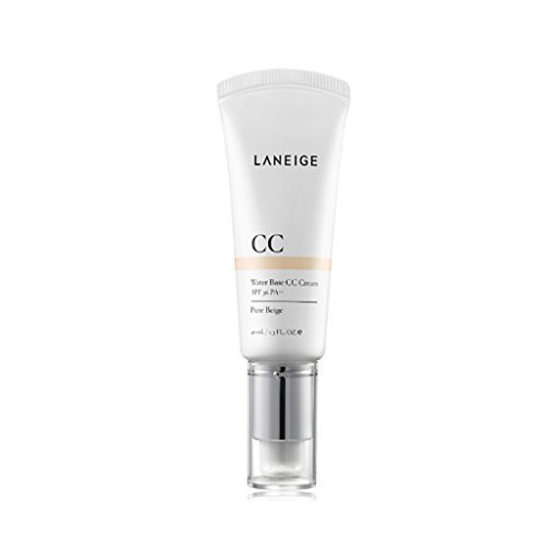 Laneige Water Base CC Cream #2 Pure Beige 1.3 Oz/40Ml