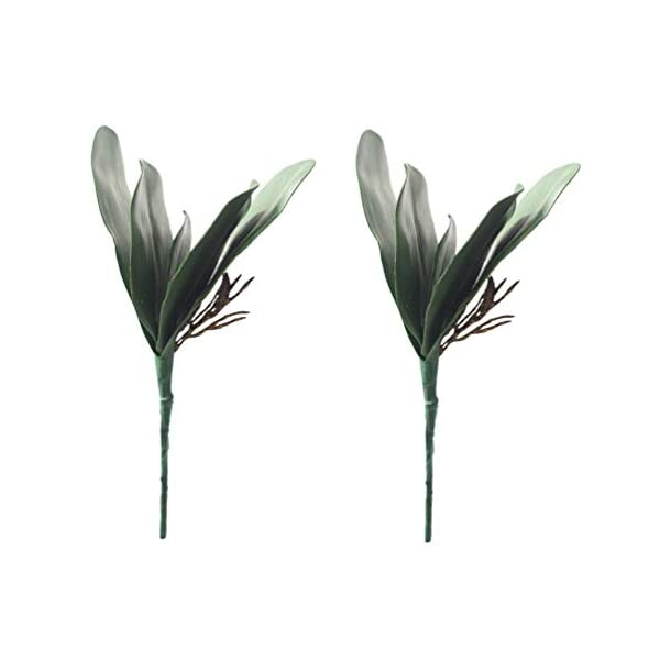 UUPP-4-pcs-Artificial-Shrubs-Plants-Fake-Ferns-Artificial-Butterfly-Orchid-Leaves-Bush-Flowers-for-Indoor-Outside-Home-Garden-Office-Decor-108