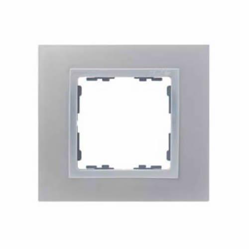 Simon - 82917-33 marco 1 elemento s-82 nature metal aluminio Ref. 6558333013 M275878
