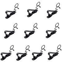 Sony SAD-H44B Horizontal Microphone Clips for ECM44B Microphones, Set of 10, Black