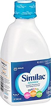 2 pack - Similac Advance Ready to Feed - 1 quart bottles