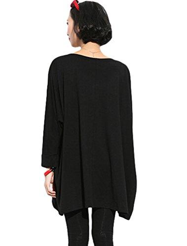 MatchLife - Camiseta - para mujer Style3-Black
