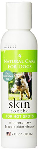 Natural Care for Dogs; Skin Soothe for Hot Spots with Rosema