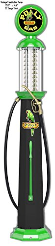 Garage Art Signs Polly Gas Station Pump Reproduction Laser Cut Out Metal Sign 4.5x23.5