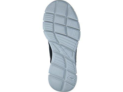 Skechers Equalizer-Timepiece, Zapatillas de Deporte para Mujer Blk