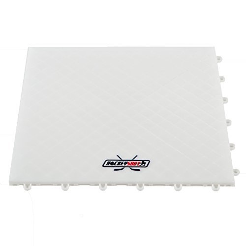 HOCKEYSHOT Dryland Flooring Tiles Hockey Training Aids | Fun Hockey Training Equipment | Skills: Shooting, Passing, Stick-handling | Interlock, Indoor & Outdoor by HockeyShot