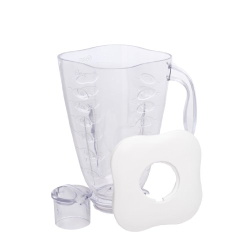 Oster 4917 6-Cup Plastic Square Accessory Jar