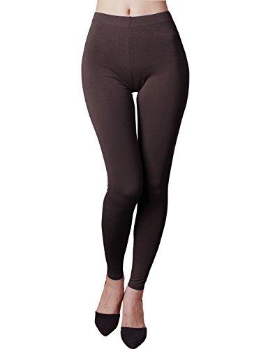 [해외]HASLRA 여성용 라이트 웨이트 프리미엄 비스코스 레이온 스트레치 전장 용 레깅스/HASLRA Women`s Light Weigh Premium Viscose Rayon Stretch Full Length Leggings