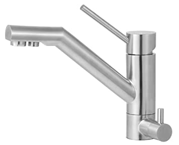 alfi brand ab2040 solid kitchen faucet with built in water dispenser stainless steel. Interior Design Ideas. Home Design Ideas