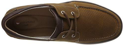 dark Tan Uomo Mocassini Leather Step Marrone Clarks Un Abode q7wTC