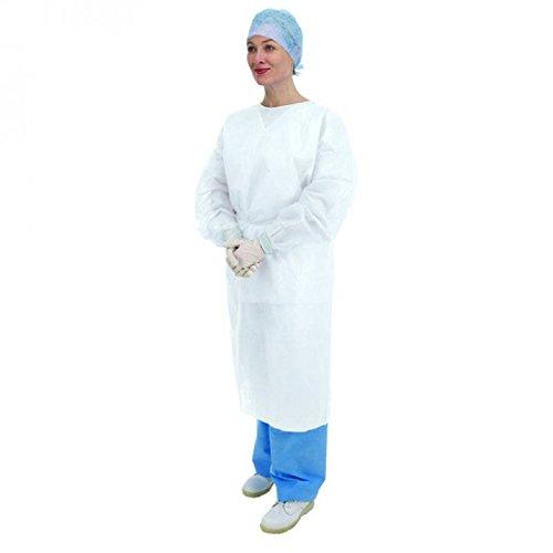 Premier 5522 - Puños desechables de manga larga, elásticos, color blanco, 10 unidades: Amazon.es: Salud y cuidado personal