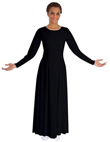 Basic Moves Adult Long Sleeve Liturgical Praise Dance - Liturgical Dresses Dance