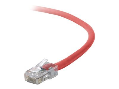 6FT CAT5E RED PATCH CORD ROHS