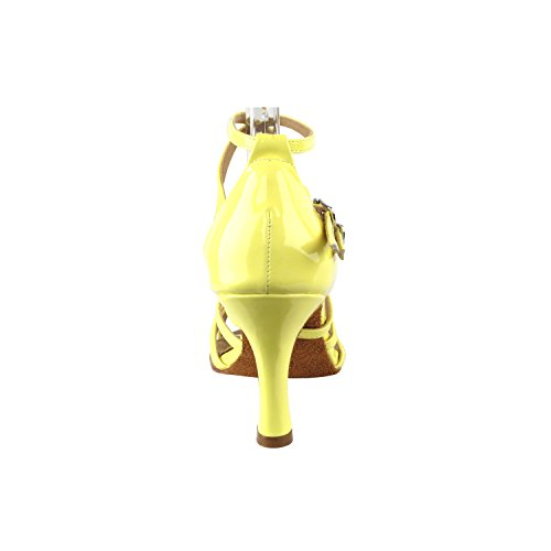 Pump Tango Party Dance Grass Shoes High Yellow Wedding Party Dress Pigeon Women Evening Swing Comfort Shoes SERA1700 Swing Ballroom Salsa Shoes Latin Latin Tango Fluorescent Heel Gold Medium Salsa OZqwAtg8O