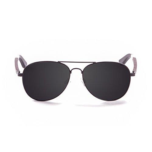 Ocean Sunglasses San Remo Lunettes de Soleil Mixte Adulte, Noir Mat