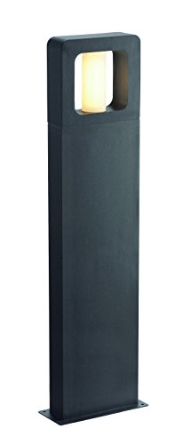 SLV Lighting 3231335U Bacco 90 Outdoor Bollard, Anthracite - Anthracite Finish