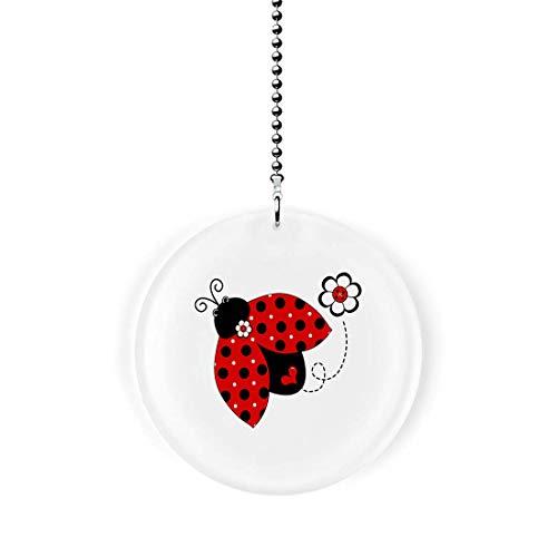 Gotham Decor Ladybug Whimsy Fan/Light Pull ()