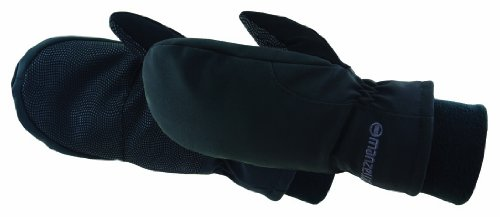 Manzella Women's Adventure 100 Mitten, Black, Large