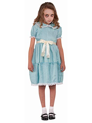 Forum Novelties Kids Creepy Sister Costume, Multicolor, Small for $<!--$15.84-->