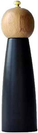 塩コショウ、木製のセラミックコアスパイスナットグラインダーハンド研削ボトルHomdeデコレーションキッチンツール (Color : M)