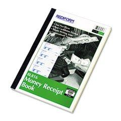 * Money Receipt Book, 2 3/4 x 7, Carbonless Duplicate, 400 Sets/Book