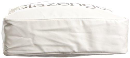 SlazengerShoulder Bag - Borse a Tracolla uomo, Shoulder Bag, bianco