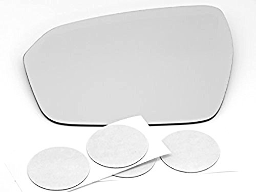 Price comparison product image 12-14 Range Rover Evoque Heated Left Driver Mirror Glass Lens with Adhesive,  USA,  Without Backing Plate