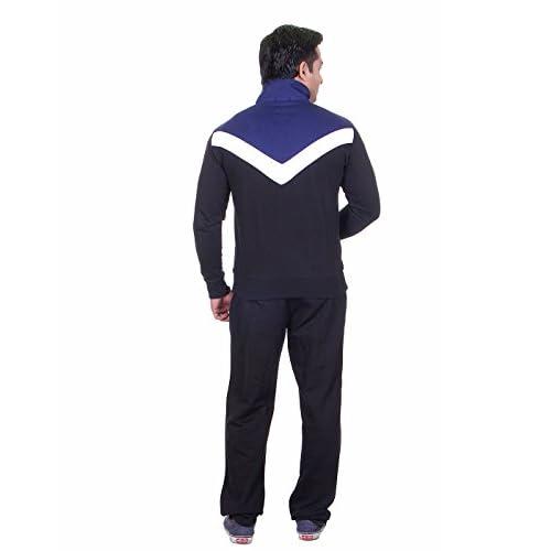 31nnLTfyCmL. SS500  - Vivid Bharti Men's High Neck Fleece Tracksuit