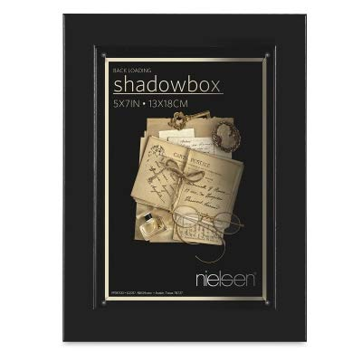 Black Shadow Box 5x7 Frame 1-7/8-inch Depth by Nielsen-Bainbridge - 5x7 by Nielsen Bainbridge