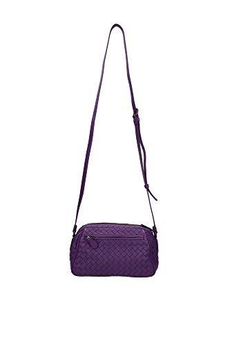 363117V00165270 Bottega Veneta Satchels Women Leather Violet