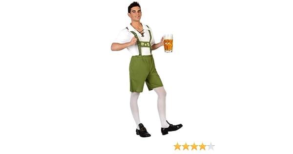 Atosa- Disfraz hombre alemán, Color verde, XS-S (18987): Amazon.es ...