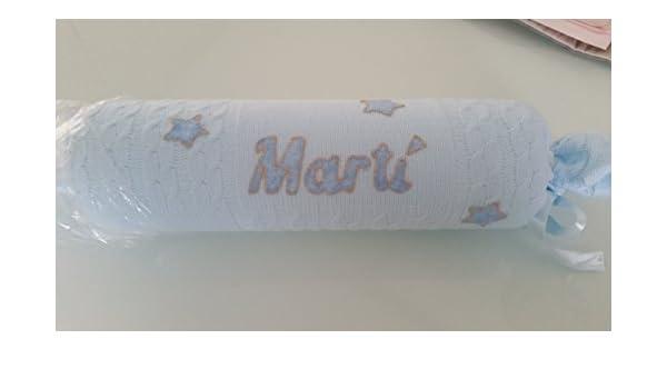 Cojín antivuelco personalizado bebe: Amazon.es: Handmade