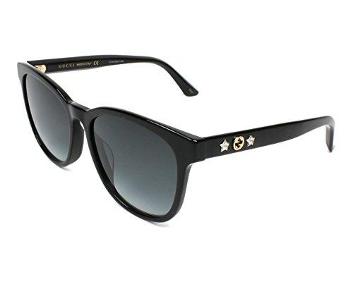 Gucci Wholesale - Gucci GG 0232 SK- 001 BLACK / GREY Sunglasses