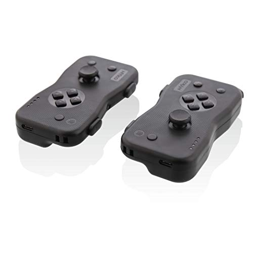 - Nyko Dualies - Pair of Motion Controllers with Included USB Type-C Charging Cable, Joy-Con Alternative for Nintendo Switch