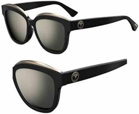 8a347a2d2de6d Sunglasses Moschino Mos 42  F S 0807 Black UE gray ivory mirror lens