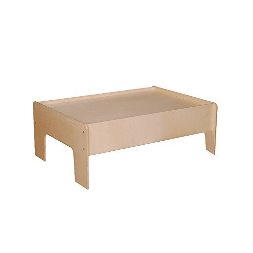 - Little Colorado Kids Learning Activity Play Table Natural Lacquer