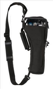 Medline HCSM6BAG6 Shoulder Style Oxygen Cylinder Bag for M6 Cylinders, Latex Free, Universal Size, Black (Pack of 6)