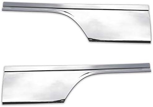 FLEDERMAUS フレーダーマウス いすゞ PMエルフ NEWエルフ 07エルフ メッキ ドア ガーニッシュ パネル ドアパネル ドアガーニッシュ左右セット 新品