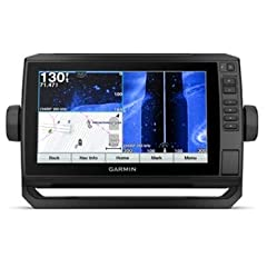"""ECHOMAP™ Plus BlueChart® G3 with GT51M-TM TransducerThe Combo with ConnectionsBright, sunlight-readable 9"""" keyed-assist touchscreen comboIncludes GT51 transducer for Garmin high wide CHIRP traditional sonar plus CHIRP ClearVü and CHIRP SideV..."""