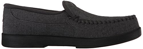 Zapatillas De Skate Hombre Dc Villain Tx Slip-on Gris Oscuro / Blanco