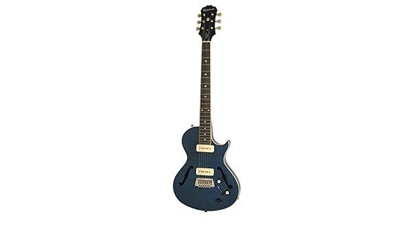 Epiphone Blueshawk Deluxe - Guitarra eléctrica, color midnight sapphire: Amazon.es: Instrumentos musicales