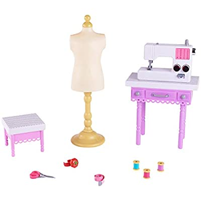 myLife Brand Products My Life As Doll 11 Piece Fashion Designer Playset: Toys & Games