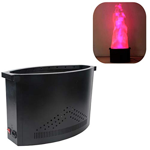 Effect Flame Lighting (TC-Home 36 LED Red Blue Flame Thrower DJ Fire Effect Lighting Stage Show Party Light)