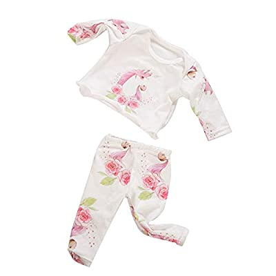 yijing American 18 Inch Girl Snug Fit Pajamas with Matching Doll Outfit, 2-Piece: Toys & Games