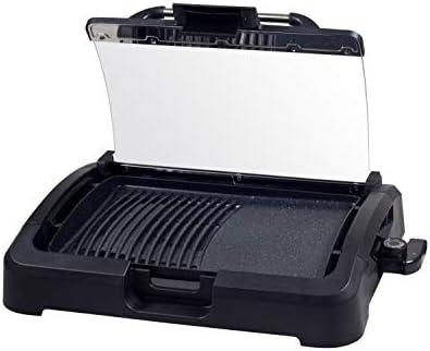 BEPER 90.871 Barbecue Electrique sur Table, 2200 W, Noir