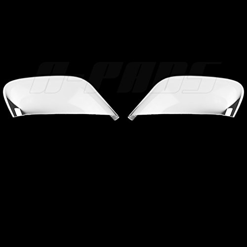 A-PADS-2-Chrome-Top-Half-Mirror-Covers-For-2014-2015-2016-Jeep-CHEROKEE-Upper-Part-Mirrors-Cover-Pair