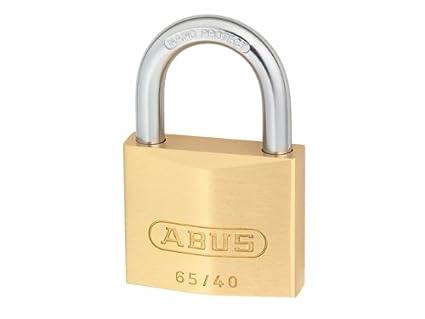 ABUS 08753 Brass Padlock with 601 Alike Keyed