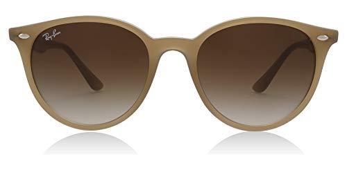 Ray-Ban RB4305 Round Sunglasses, Opal Beige Gradient Dark Brown, 53 mm (Best Mens Sunglasses 2019)
