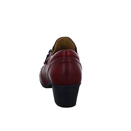 Chiuso Scuro 55 Casuale rosso Rosse Gabor punta Donne Delle Pompe wUq8HX8