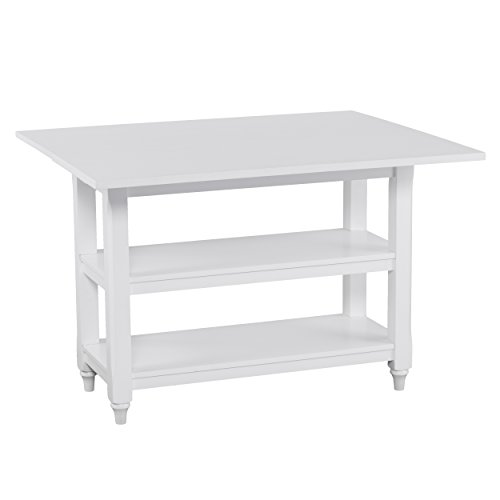 Furniture HotSpot - Folding Dining Table - White - 43